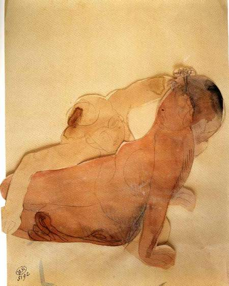 auguste rodin paper The drawings of august rodin (1840-1917) have always been  often making  spontaneous sketches on paper or in clay, sometimes later cast.
